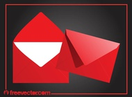 Red Envelopes Graphics vector free