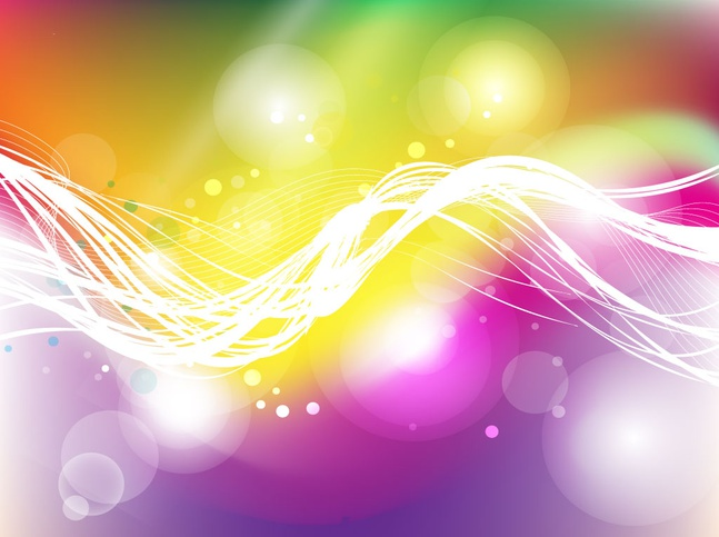 Colorful Energy Background vector free