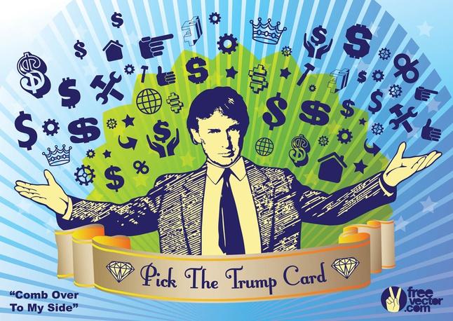 Donald Trump Election Vector free