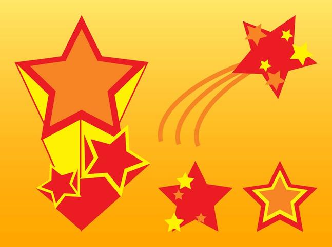 Stars Vector Graphics free