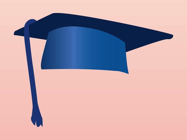 Academic Cap vector free
