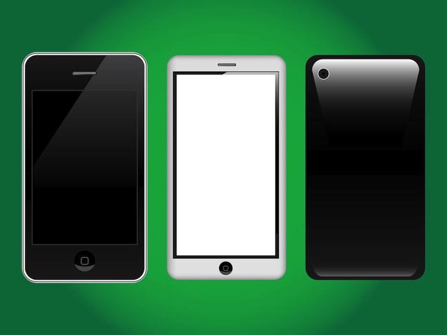 Apple iPhone Graphics vector free