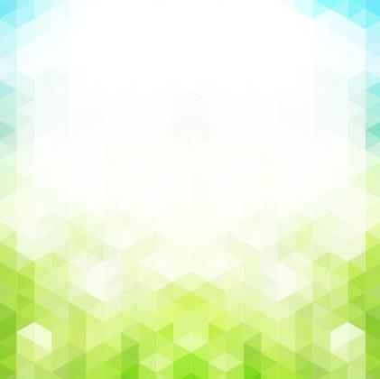 Shiny spring elements vector background set 01 free
