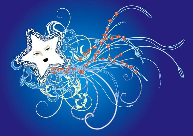 Star Vector Illustration free