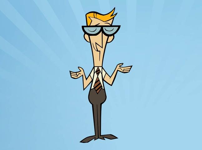 Cartoon Dad vector free