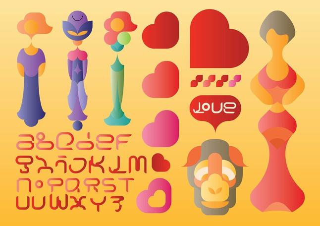 Typography Vectors free