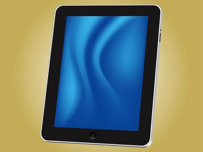 IPad Tablet vector free