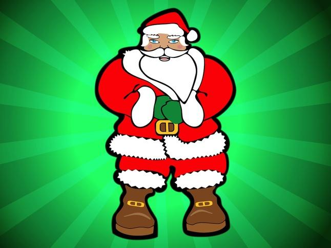 Santa Vector free