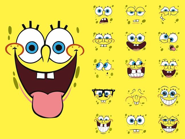 Spongebob Squarepants vector free