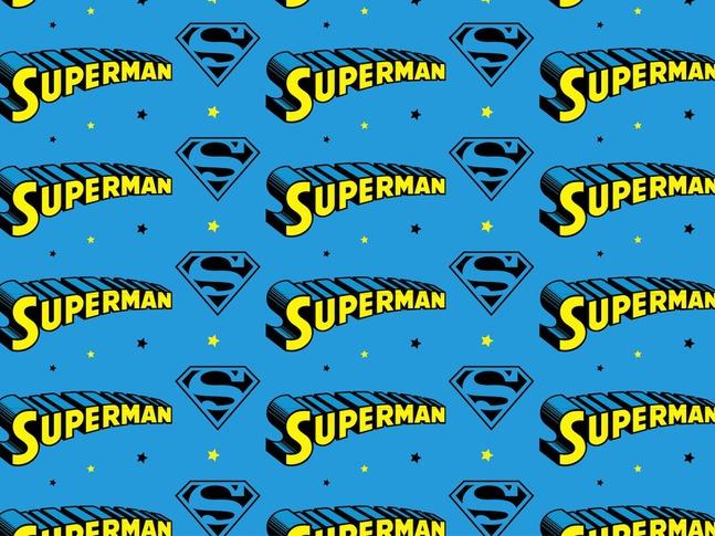 Superman Pattern vector free