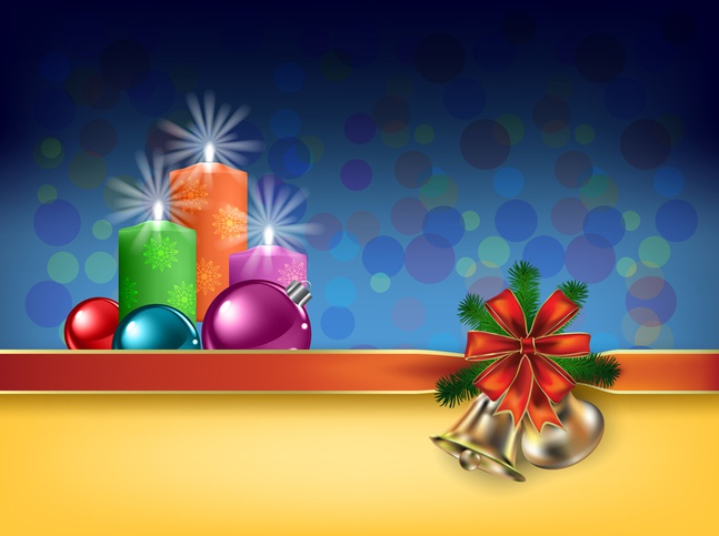 Vector Christmas Background free