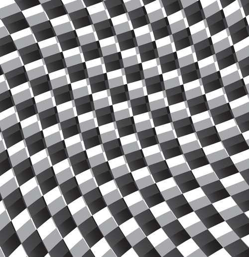 Black and white checkered background vector 04 free