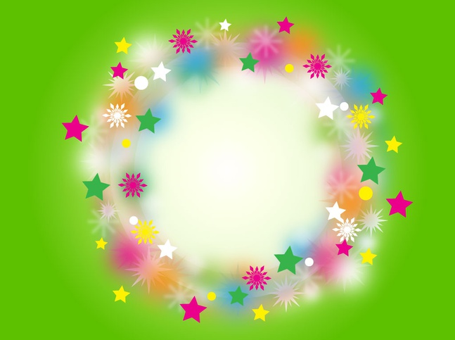 Rainbow Christmas Wreath vector free
