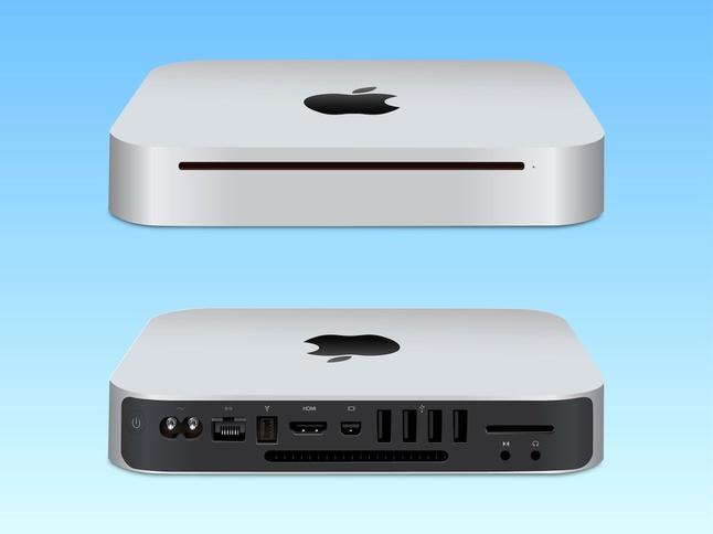 Mac Mini Vector Illustration free