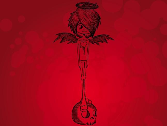 Evil Angel vector free