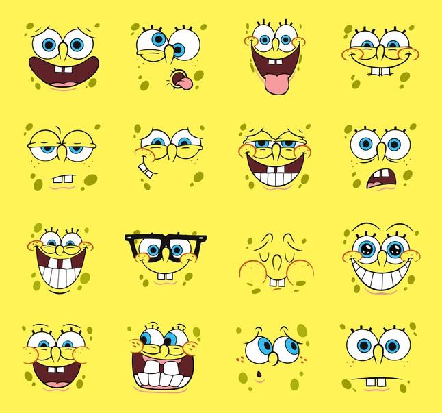 Spongebob Vector Cartoons free