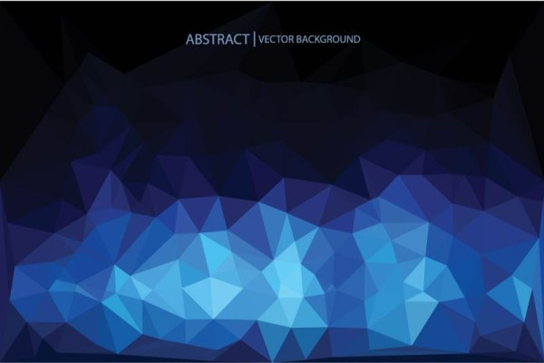 Abstract triangle embossment vector background 01 free