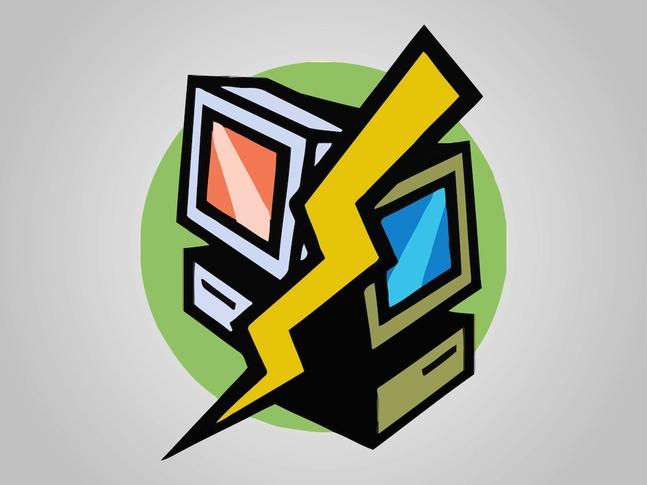 Computers Icon vector free