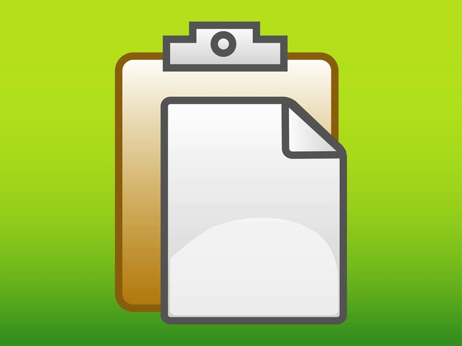 Folder And Paper vector free