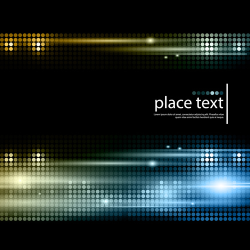Shiny neon disco party background vector 04 free