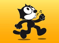 Felix The Cat vector free