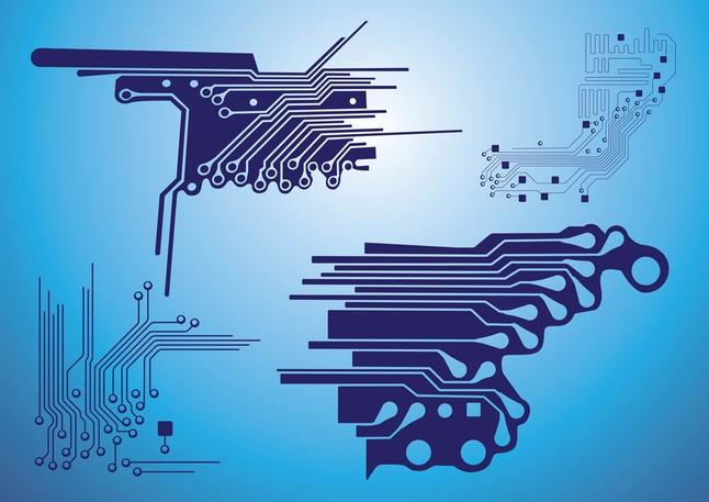 Electronic Circuit vector free