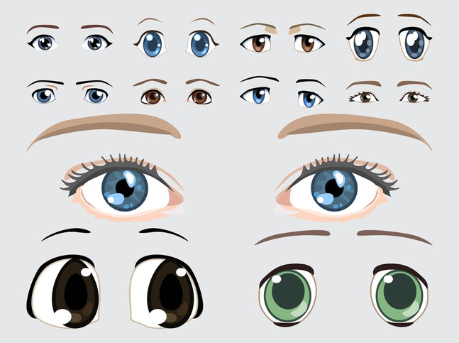 Eyes Vector Images free