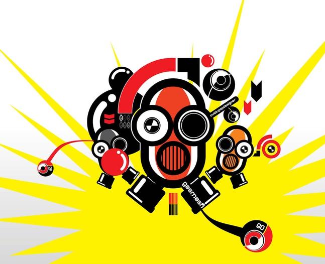 Robots Vector Graphics free