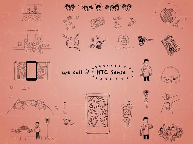 HTC Sense vector free
