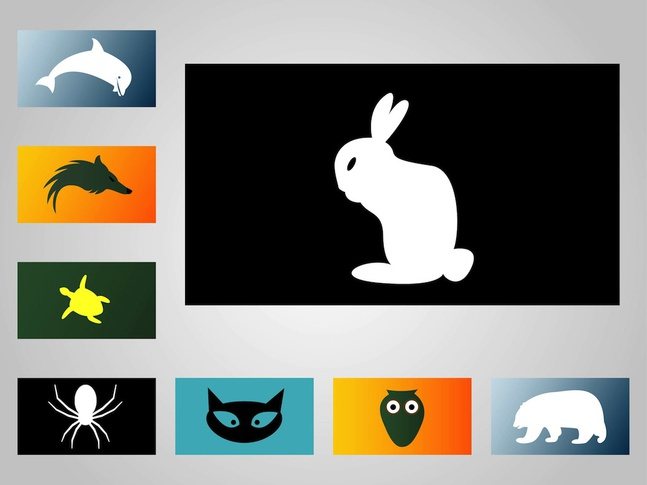 Animal Designs vector free