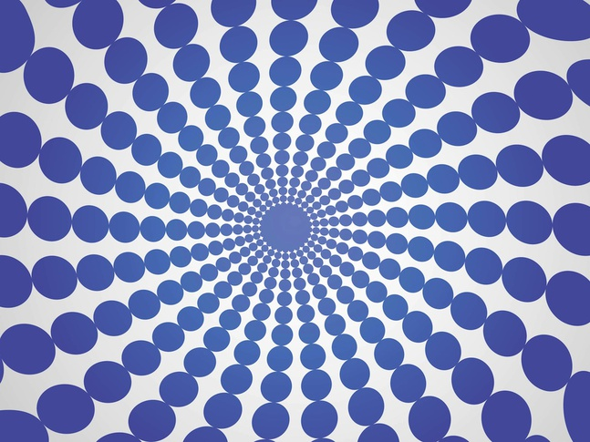 Circle Rays vector free
