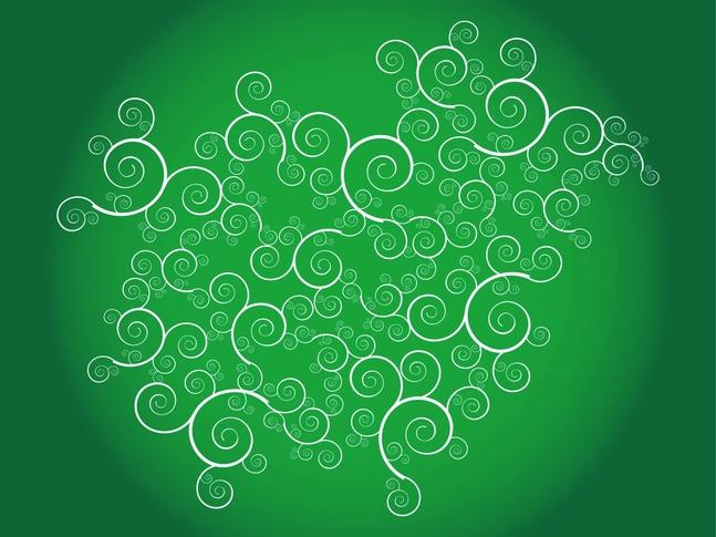 Swirls Layout vector free