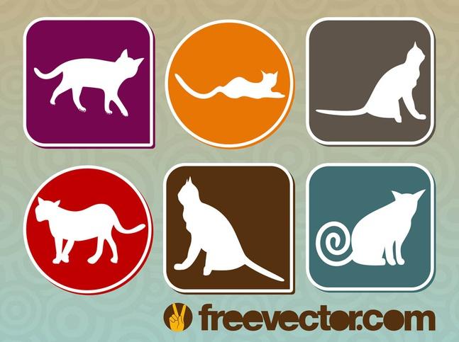Vector Cats free