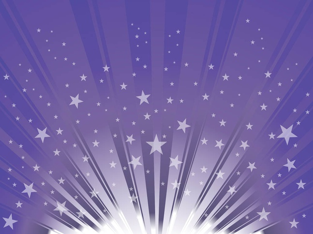 Vector Stars Background free
