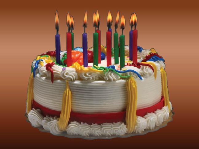 Birthday Cake Image vector free