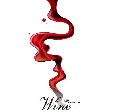 Creative wine design vector background free