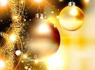 Golden Christmas Vector free