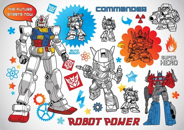 Robot Vectors free
