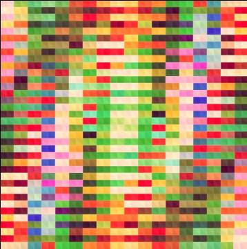 Blurred mosaic colored background art vector 03 free