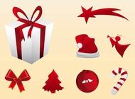 Holiday Season Icons vector free