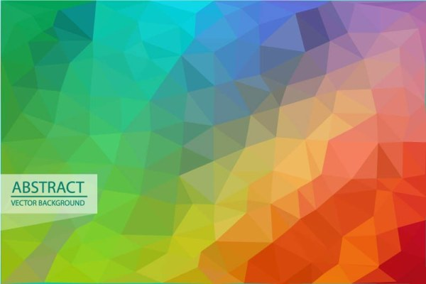 Abstract triangle embossment vector background 04 free