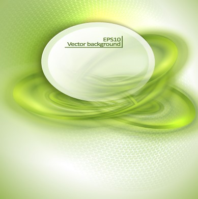Green abstract style vector background graphic free