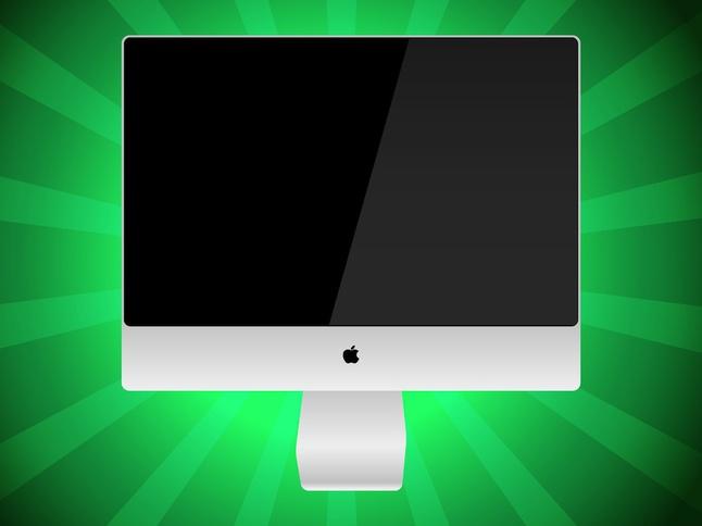 IMac Vector Graphic free