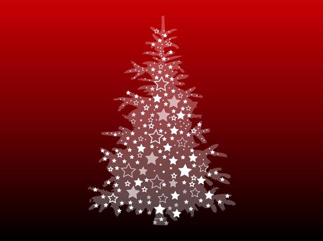 Christmas Tree Image vector free