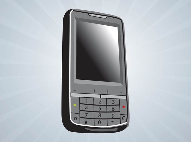 Vector Mobile Phone free