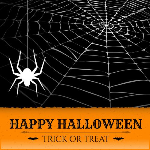 Vector spider web design background graphics 01 free