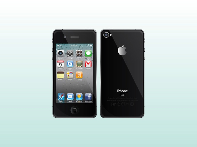 Apple iPhone Vectors free