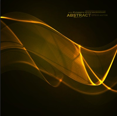 Dynamic light waves background vector 05 free
