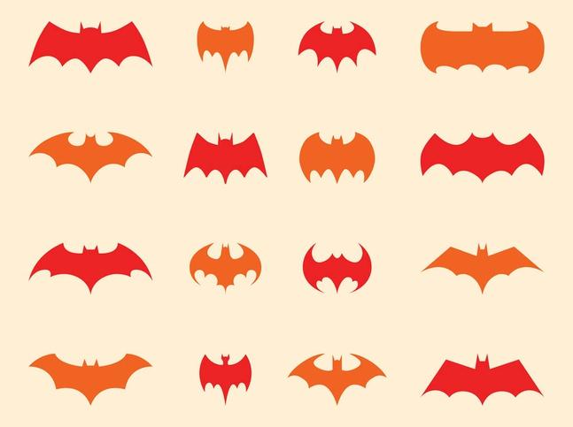 Batman Logo Set vector free