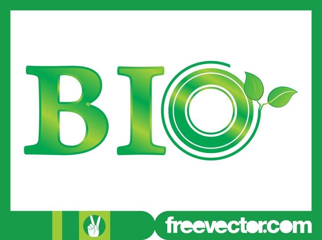 Bio Type Art vector free